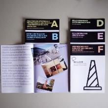 Sechs Magazine der Abschlusspublikation des Reallabors für nachhaltige Mobilitätskultur
